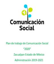 plan de trabajo comunicacion